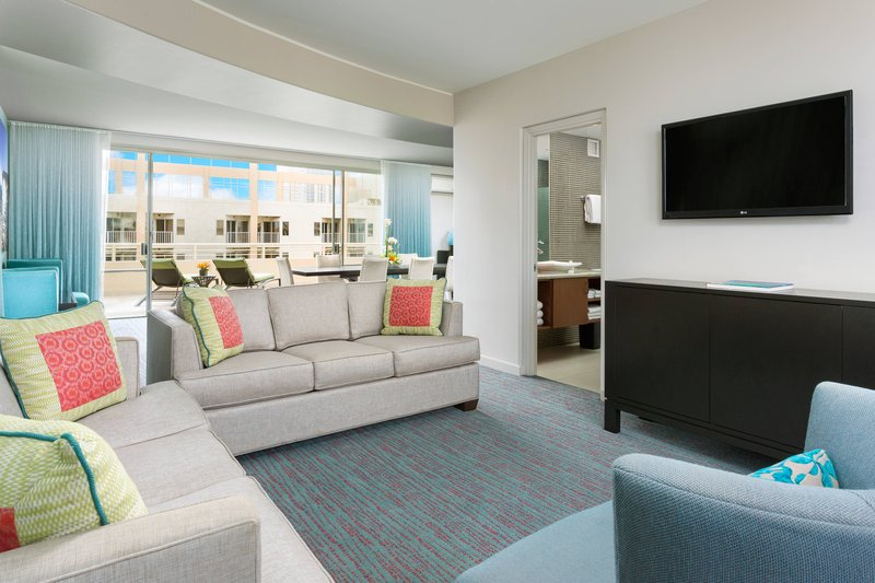 Courtyard by Marriott Waikiki-Penthouse Suite - Living Room<br/>Image from Leonardo