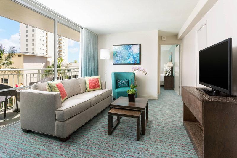 Courtyard by Marriott Waikiki-Corner Suite<br/>Image from Leonardo