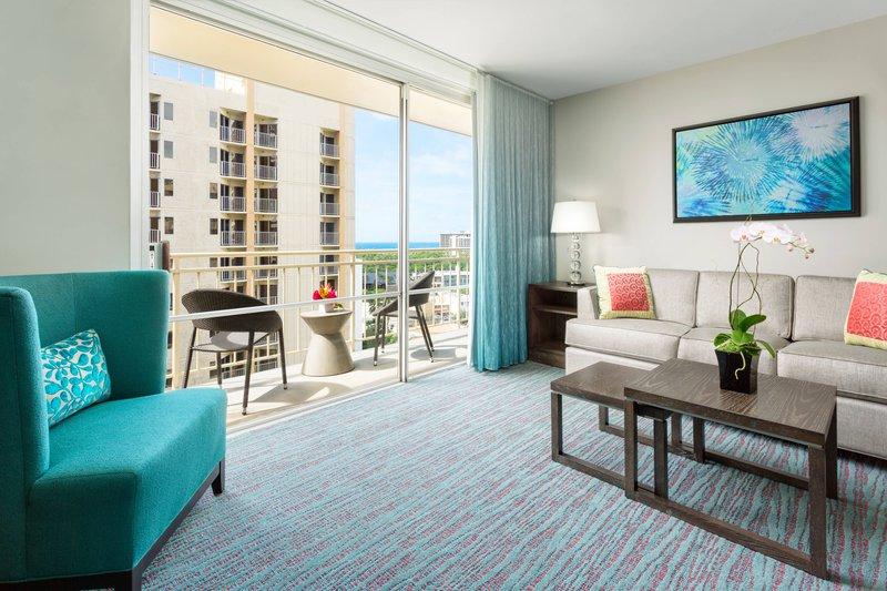 Courtyard by Marriott Waikiki-One-Bedroom Suite - Balcony<br/>Image from Leonardo