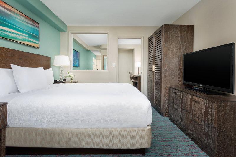 Courtyard by Marriott Waikiki-One-Bedroom - Bedroom<br/>Image from Leonardo