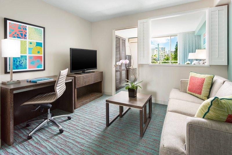 Courtyard by Marriott Waikiki-One-Bedroom Suite<br/>Image from Leonardo