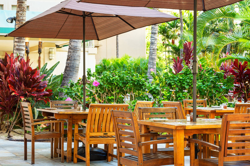 Courtyard by Marriott Waikiki-Spada - Outdoor Seating<br/>Image from Leonardo