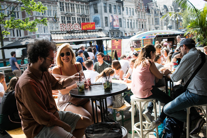 Holiday Inn Express Gent-Barrio Cantina Food Truck Festival (4 Km)<br/>Image from Leonardo