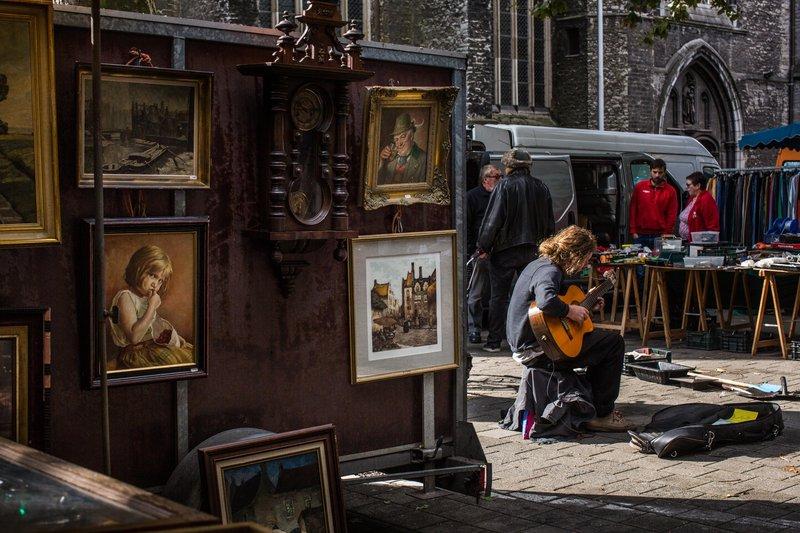 Holiday Inn Express Gent-Flea Market at Saint Jacobs<br/>Image from Leonardo