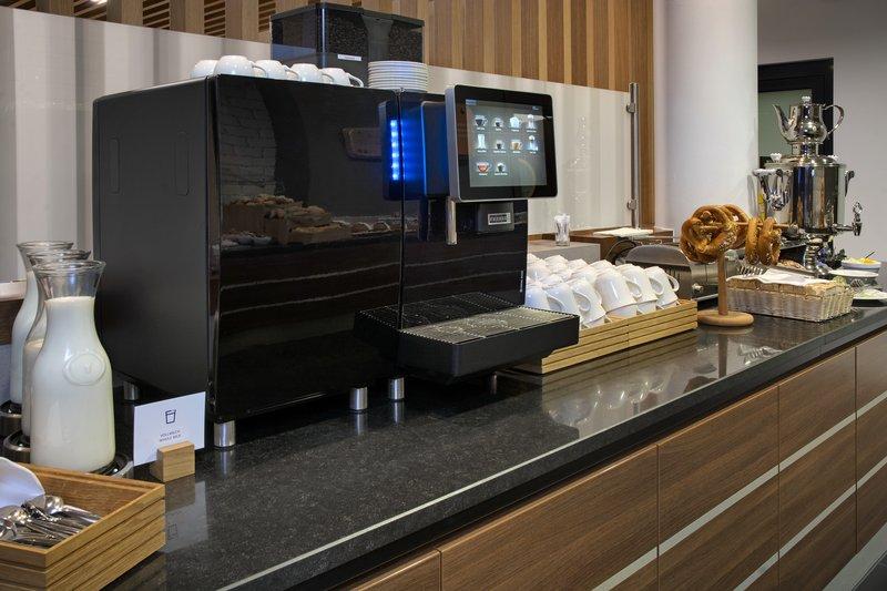 Holiday Inn Express Stuttgart Airport-Fresh-ground coffee, part of an inclusive Express Start Breakfast.<br/>Image from Leonardo