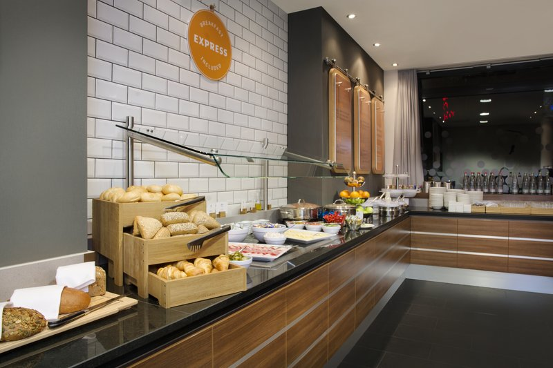 Holiday Inn Express Stuttgart Airport-Fresh breads, cheeses and coffee at the Express Start Breakfast.<br/>Image from Leonardo