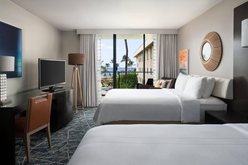Waikoloa Beach Marriott - Double/Double Ocean View Guest Room <br/>Image from Leonardo