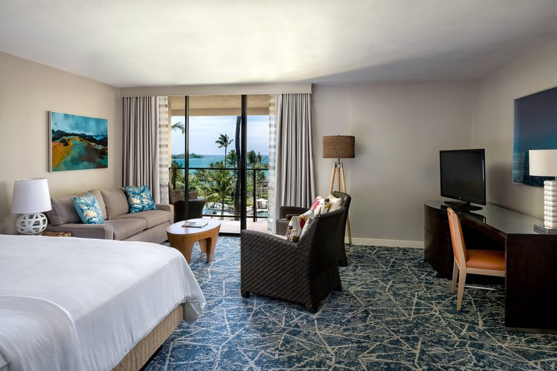 Waikoloa Beach Marriott - Corner King Guest Room with Balcony <br/>Image from Leonardo