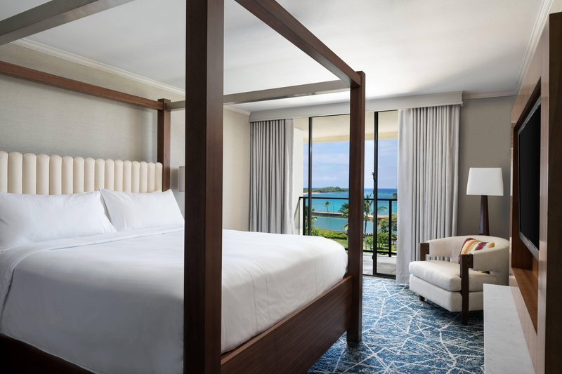 Waikoloa Beach Marriott - Kukui Ocean View Suite - Bedroom <br/>Image from Leonardo