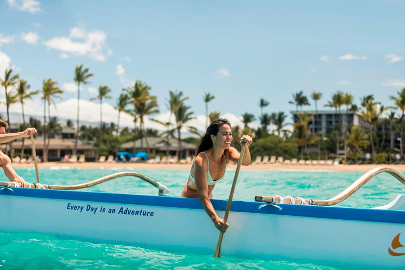 Waikoloa Beach Marriott - Outrigger Canoe <br/>Image from Leonardo