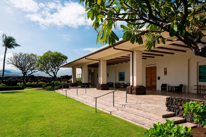 Waikoloa Beach Marriott - Naupaka Lawn Prefunction Space <br/>Image from Leonardo