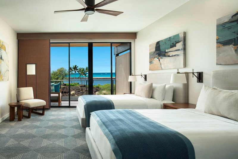 Waikoloa Beach Marriott - Na Hale SpaciousDouble/Double Guest Room <br/>Image from Leonardo