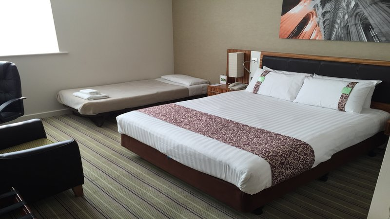 Holiday Inn Winchester-Double Bedroom with Extra Bed (suitable for children under 12)<br/>Image from Leonardo