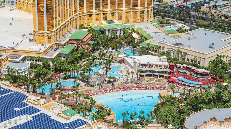 Mandalay Bay Resort and Casino-MBay Pool<br/>Image from Leonardo