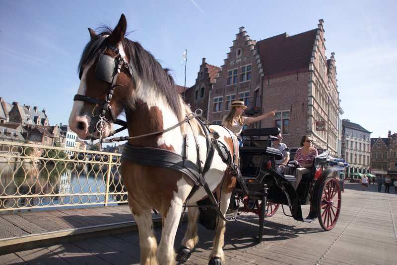 Holiday Inn Express Gent-Horse carriage tour in the medieval Gent city center (4km)<br/>Image from Leonardo