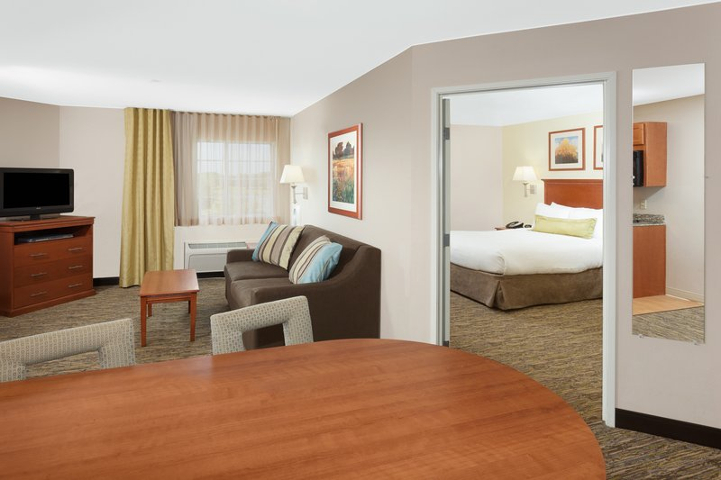Candlewood Suites Aurora-Naperville-Spacious One Bedroom Suite with pull out sofa<br/>Image from Leonardo