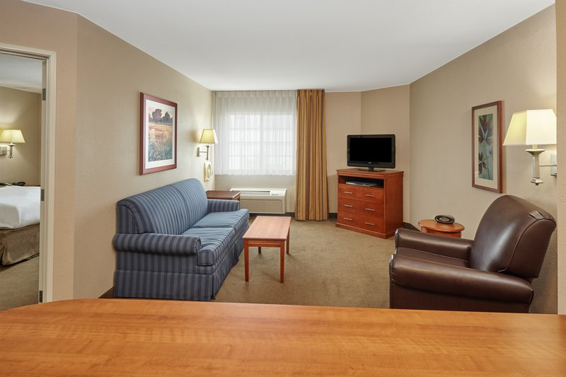 Candlewood Suites Aurora-Naperville-One Bedroom Suite living area<br/>Image from Leonardo