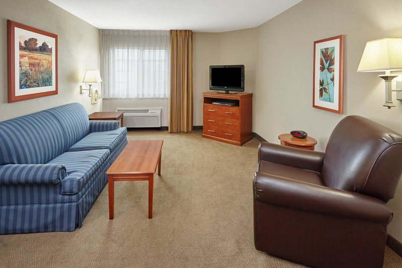 Candlewood Suites Aurora-Naperville-ADA/Handicapped accessible One Bedroom Suite living area<br/>Image from Leonardo