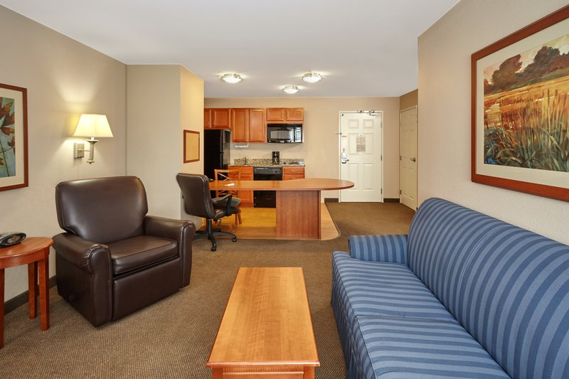 Candlewood Suites Aurora-Naperville-One Bedroom Queen Suite living area<br/>Image from Leonardo