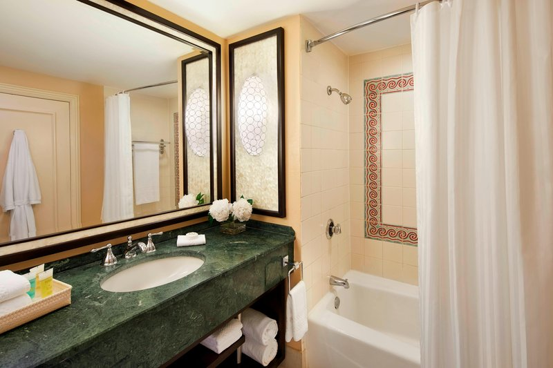 The Royal at Atlantis - Guest Bathroom <br/>Image from Leonardo