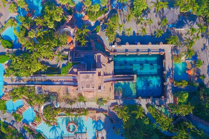 The Royal at Atlantis - Aquaventure Overhead <br/>Image from Leonardo