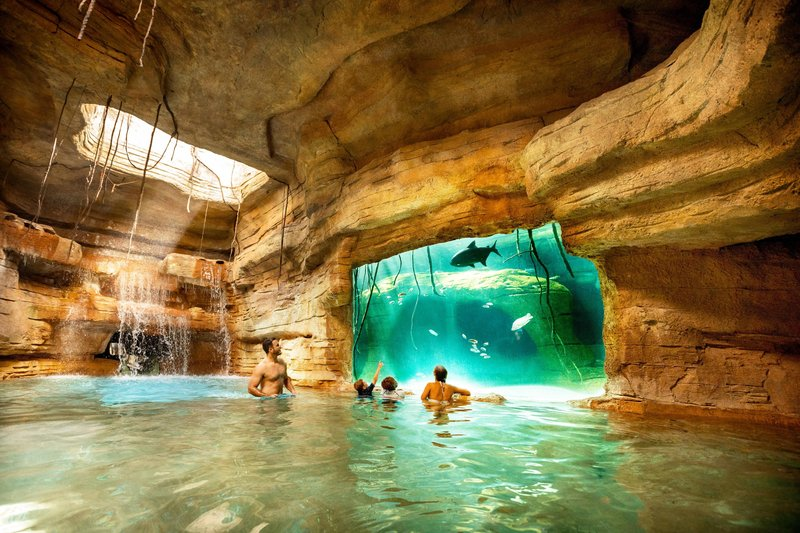 The Royal at Atlantis-Cenote Cave<br/>Image from Leonardo