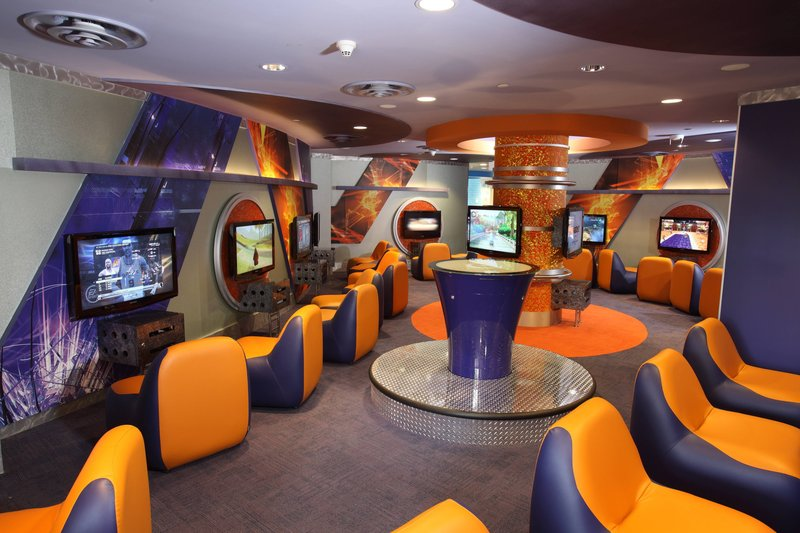 The Royal at Atlantis-Atlantis Kids Adventure - Gaming Room<br/>Image from Leonardo
