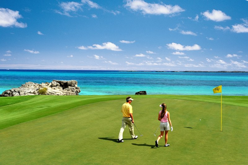 The Royal at Atlantis-Ocean Club Golf Course<br/>Image from Leonardo