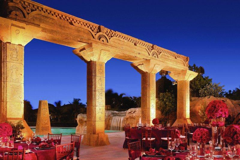 The Royal at Atlantis - Baths Colonnade <br/>Image from Leonardo