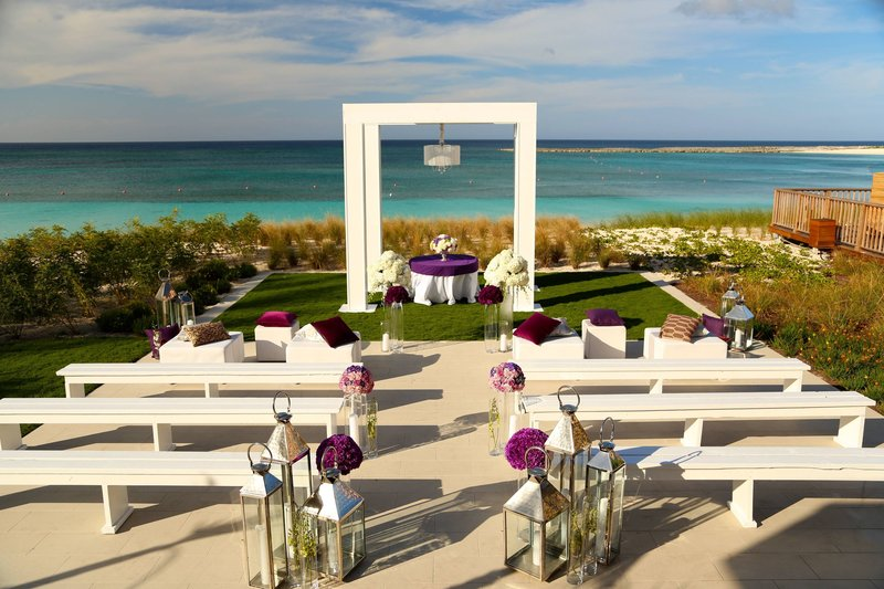 The Royal at Atlantis - Ocean View - Ceremony <br/>Image from Leonardo