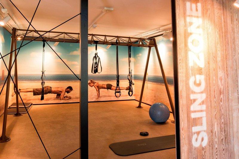 Renaissance Naples Hotel Mediterraneo-Fitness Center<br/>Image from Leonardo