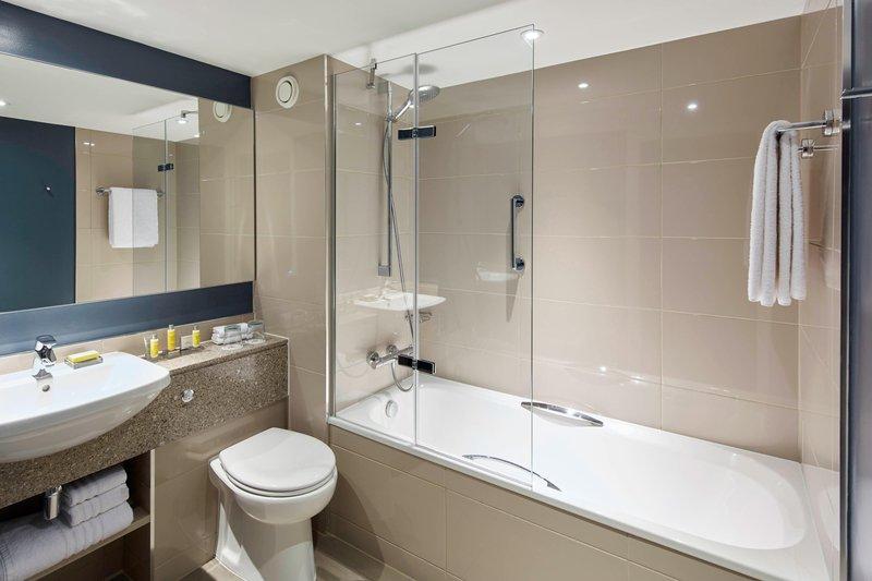 Marriott Portsmouth Hotel-Guest Bathroom - Shower/Tub<br/>Image from Leonardo