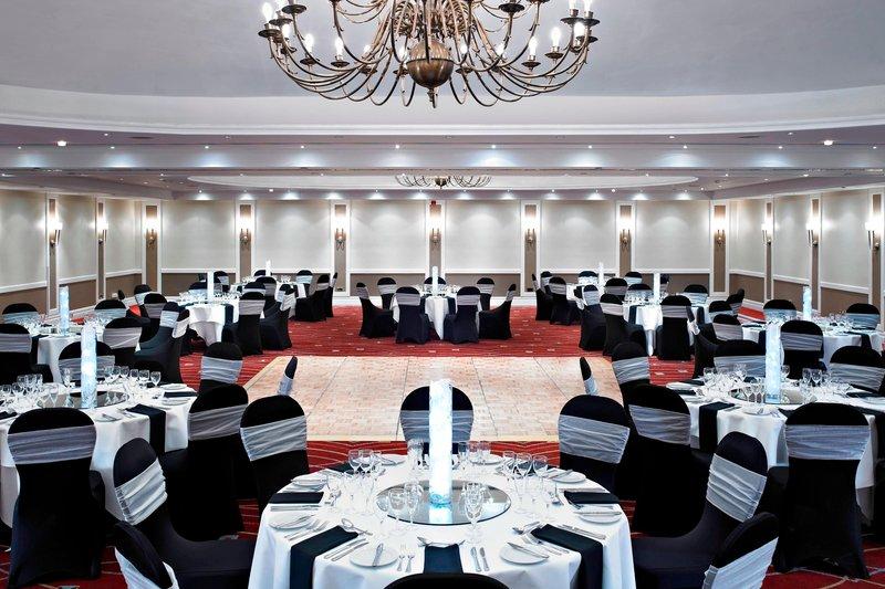 Marriott Portsmouth Hotel-Mary Rose Suite – Banquet Setup<br/>Image from Leonardo