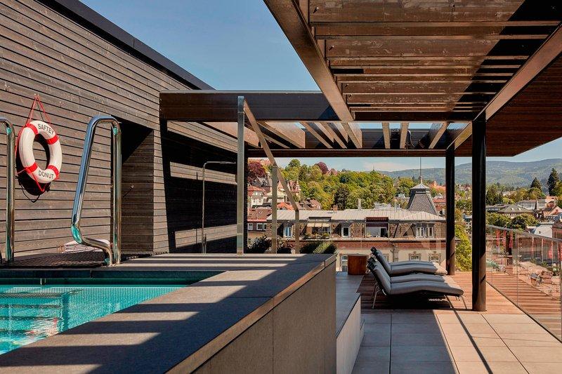 Autograph Collection Roomers Baden-Baden-Rooftop Pool<br/>Image from Leonardo