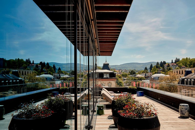 Autograph Collection Roomers Baden-Baden-Roomers Spa - Terrace<br/>Image from Leonardo