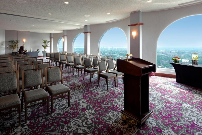 Montreal Marriott Chateau Champlain-Maisonneuve B & C Meeting Room - Theater Setup<br/>Image from Leonardo