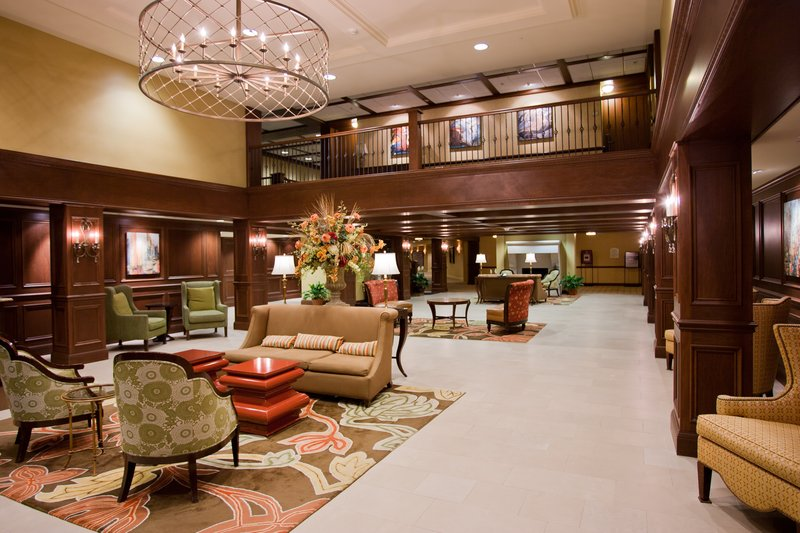 Crowne Plaza Louisville Airport Expo Center-Relax in our spacious and comfortable lobby<br/>Image from Leonardo