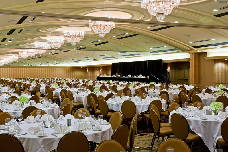 Crowne Plaza Louisville Airport Expo Center-Crowne Ballroom, perfect for large groups or events. <br/>Image from Leonardo