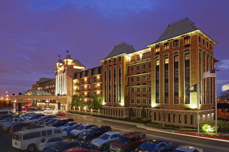 Crowne Plaza Louisville Airport Expo Center-Hotel is located adjacent to KY Expo Center and SDF Airport <br/>Image from Leonardo