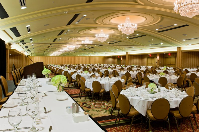 Crowne Plaza Louisville Airport Expo Center-One of our largest meeting spaces, Crowne Ballroom.<br/>Image from Leonardo