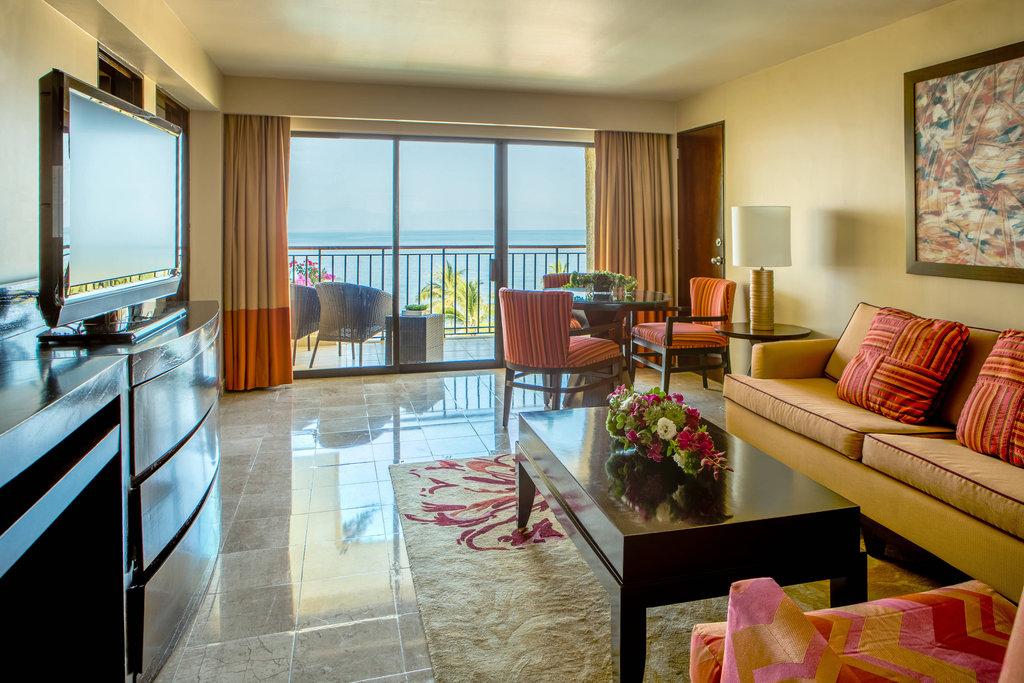 Marriott Puerto Vallarta Resort & Spa - Junior Suite - Living Room <br/>Image from Leonardo
