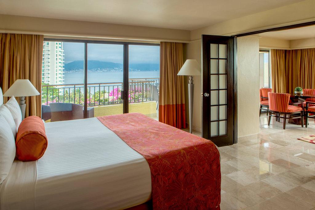 Marriott Puerto Vallarta Resort & Spa - Diplomat Suite - Bedroom <br/>Image from Leonardo