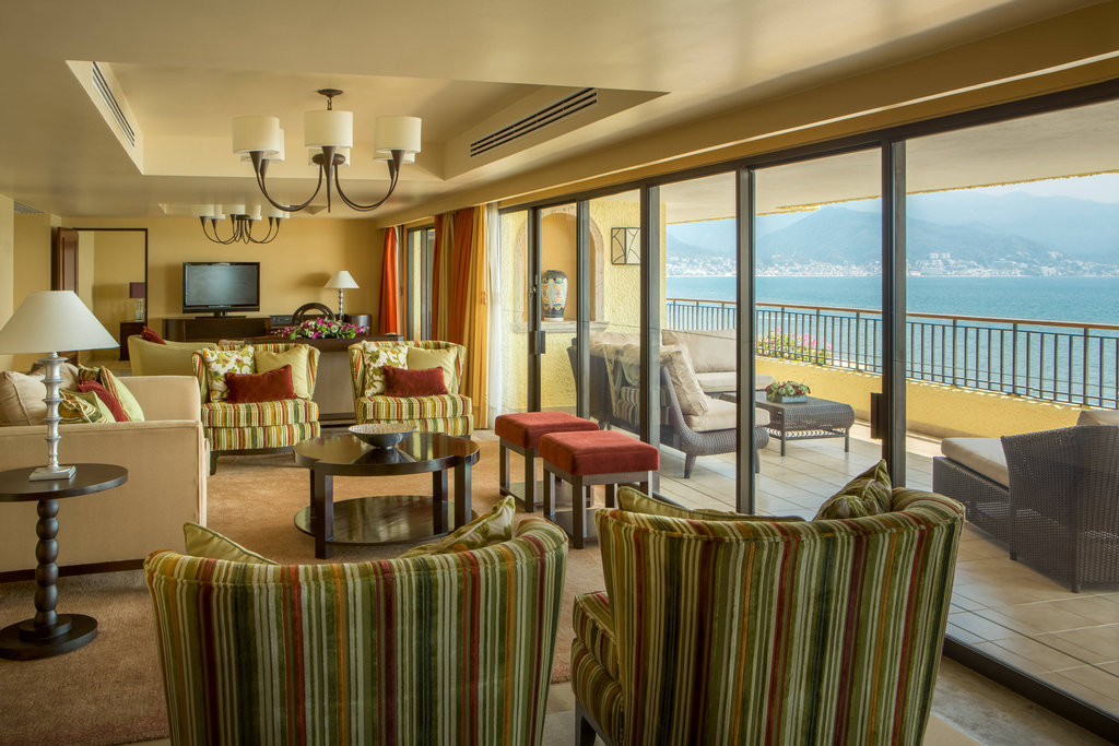 Marriott Puerto Vallarta Resort & Spa - Royal Suite - Living Room <br/>Image from Leonardo