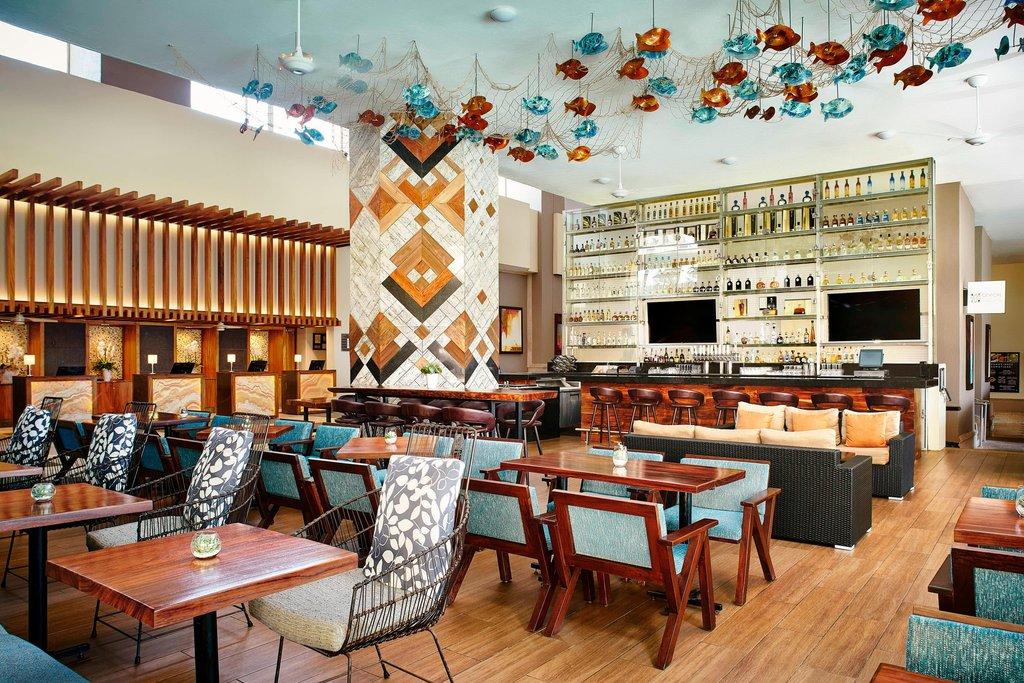 Marriott Puerto Vallarta Resort & Spa - Ceviche & Tequila Bar - Lounge Area <br/>Image from Leonardo