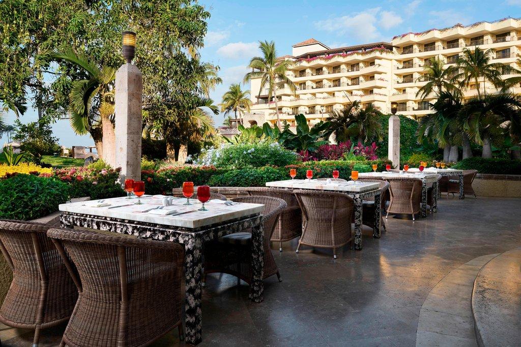 Marriott Puerto Vallarta Resort & Spa - La Estancia Outdoor Terrace <br/>Image from Leonardo