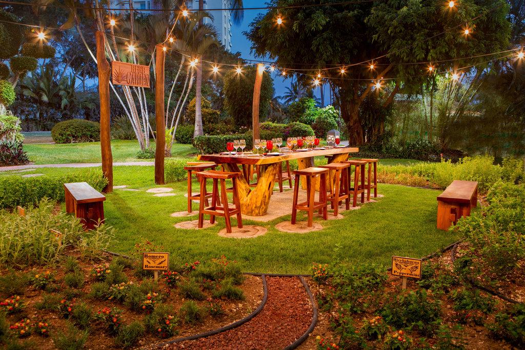 Marriott Puerto Vallarta Resort & Spa - Herb Garden <br/>Image from Leonardo