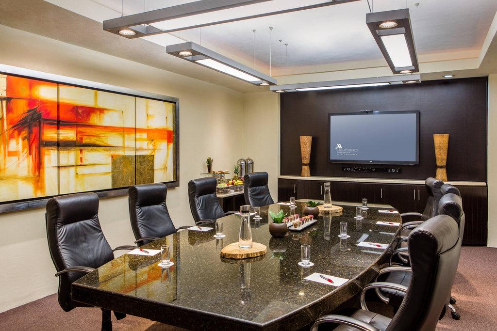 Marriott Puerto Vallarta Resort & Spa - Business Center - Mazatlan Executive Boardroom <br/>Image from Leonardo