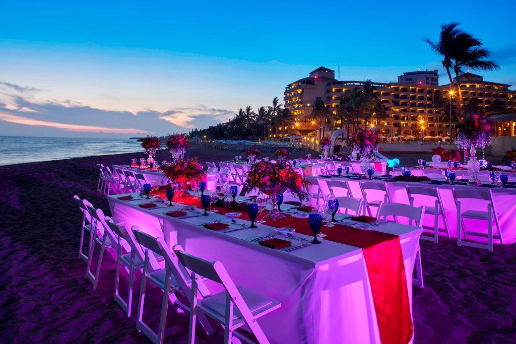 Marriott Puerto Vallarta Resort & Spa - Outdoor Reception Setup <br/>Image from Leonardo