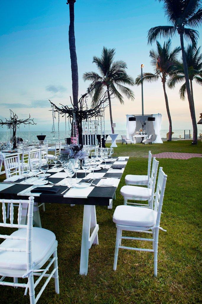 Marriott Puerto Vallarta Resort & Spa - Oceanfront Event Setup <br/>Image from Leonardo
