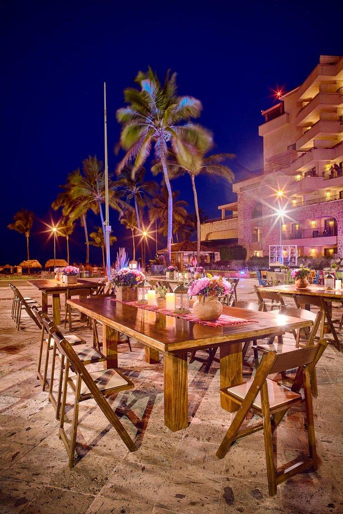 Marriott Puerto Vallarta Resort & Spa - Main Patio Event Setup <br/>Image from Leonardo